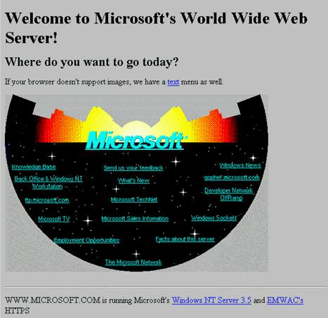 Microsoft.com - 1995