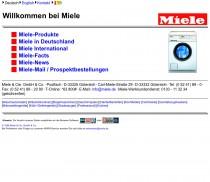 Miele.de – 1996