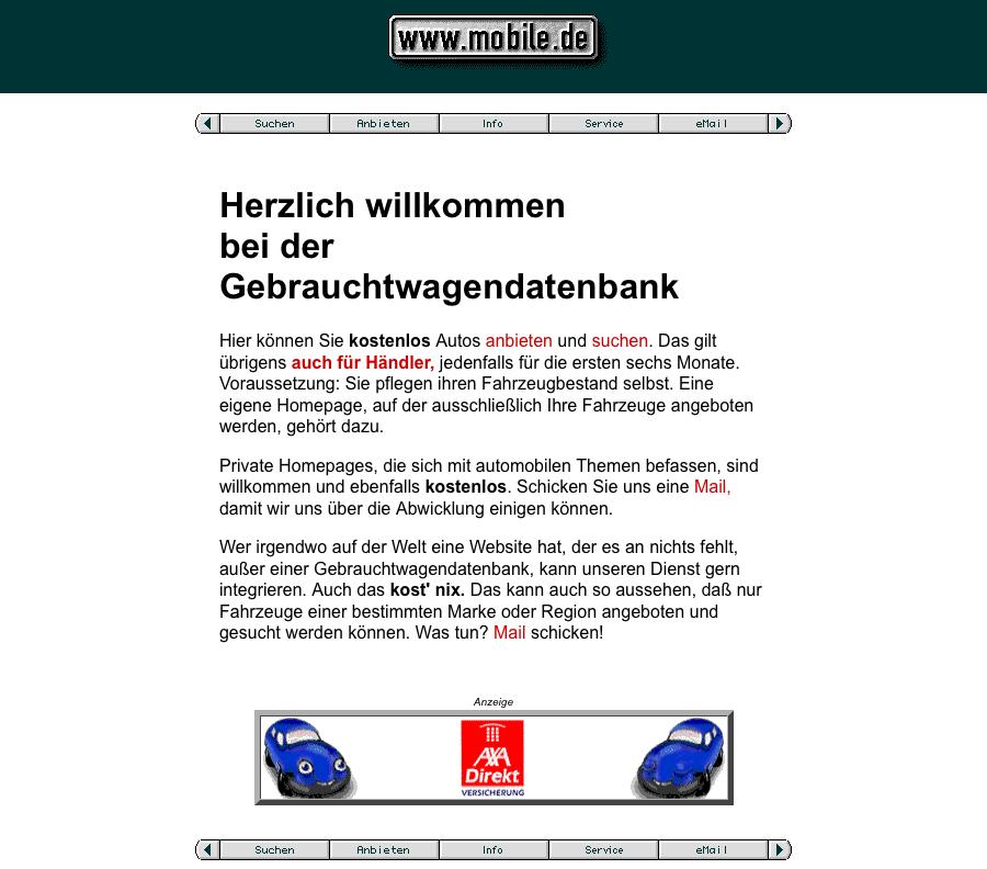 Mobile.de – 1997