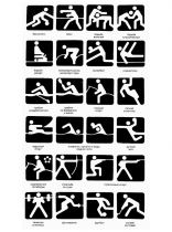 Pictograms Moskau 1980
