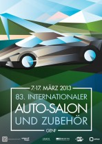 Plakat Auto Salon 2013