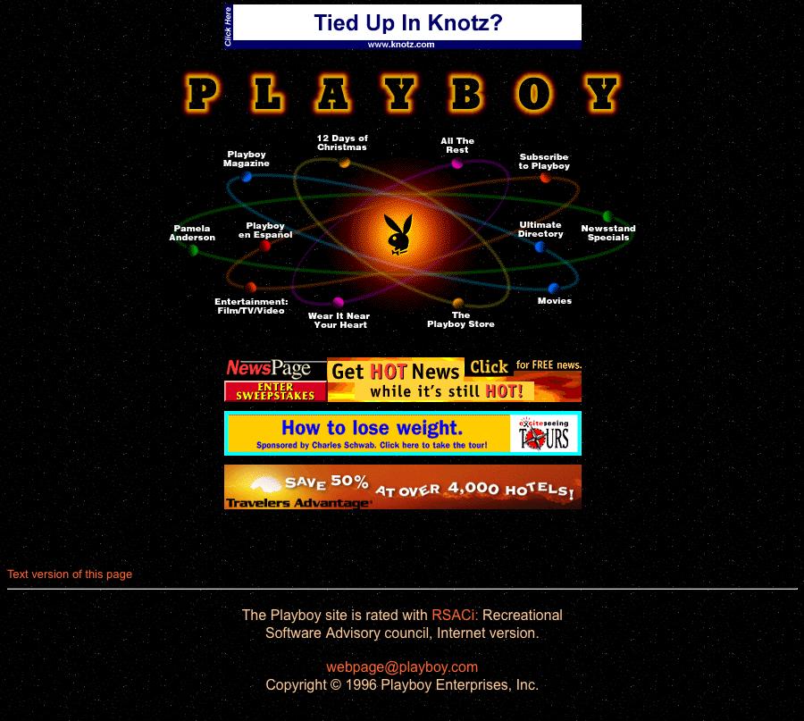 Playboy.com – 1996