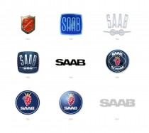 SAAB Cars – Logo Historie