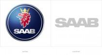 SAAB Logos – vorher und nachher
