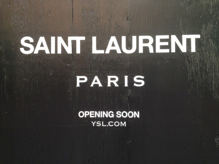 "Aus ""Yves Saint Laurent"" wird ""Saint Laurent Paris"""