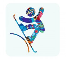 Pictogram Snowboard – Sochi 2014