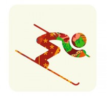 Pictogram Alpine Skiing – Sochi 2014