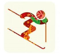 Pictogram Slalom – Sochi 2014