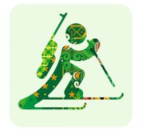 Pictogram Biathlon – Sochi 2014