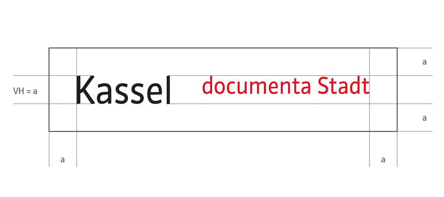 Stadt Kassel Logo inkl. Schutzraum