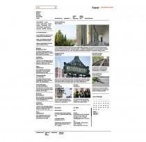 Stadt Kassel – Website Startseite