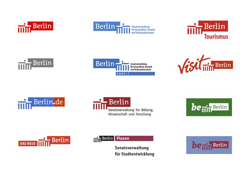 Berlin - städtische Absender