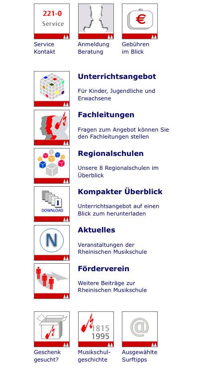 Keyvisuals im Stile von Cliparts – Stadtportal Köln
