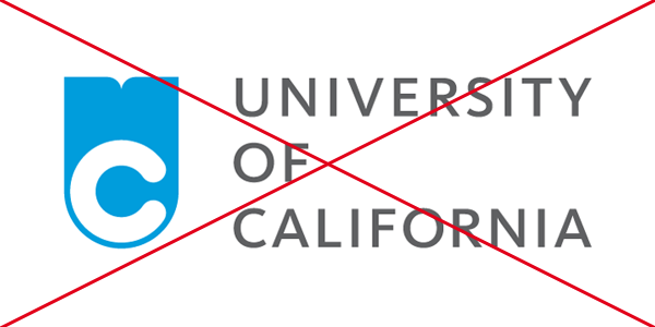 University of California – Monogram