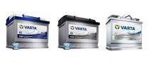 Batterien mit dem neuen VARTA-Logo von Johnson-Controls