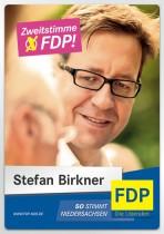 Wahlplakat zu Landtagswahl 2013 in Niedersachsen – FDP