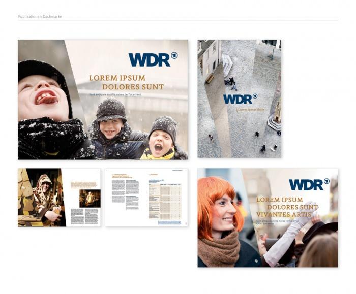 Das neue Corporate Design des WDR