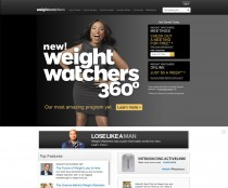 Weight Watchers –  Website