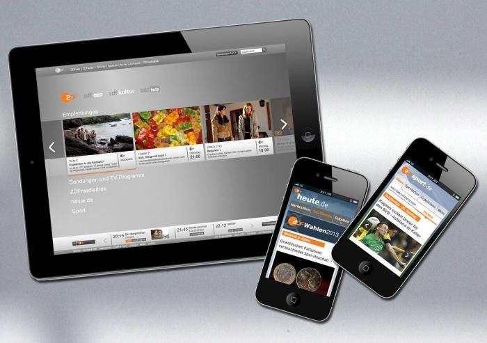 Das neue Webmotto des ZDF: minimalistisch, mobil und vom Bewegtbild getrieben