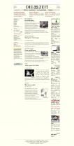 ZEIT.de – Startseite 2000