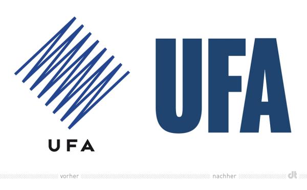 Ufa mit neuem unternehmensauftritt