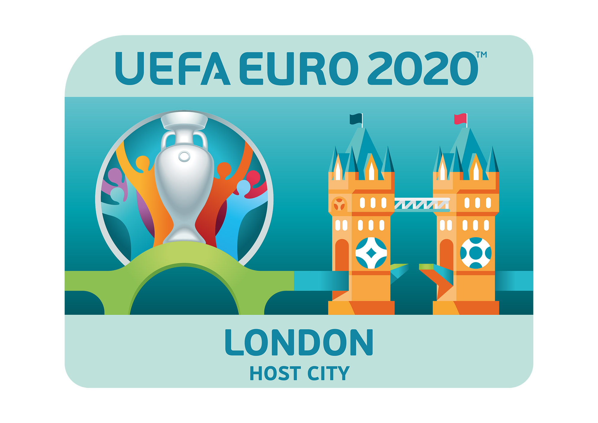 Uefa Euro 2020 Host City Logo London Design Tagebuch