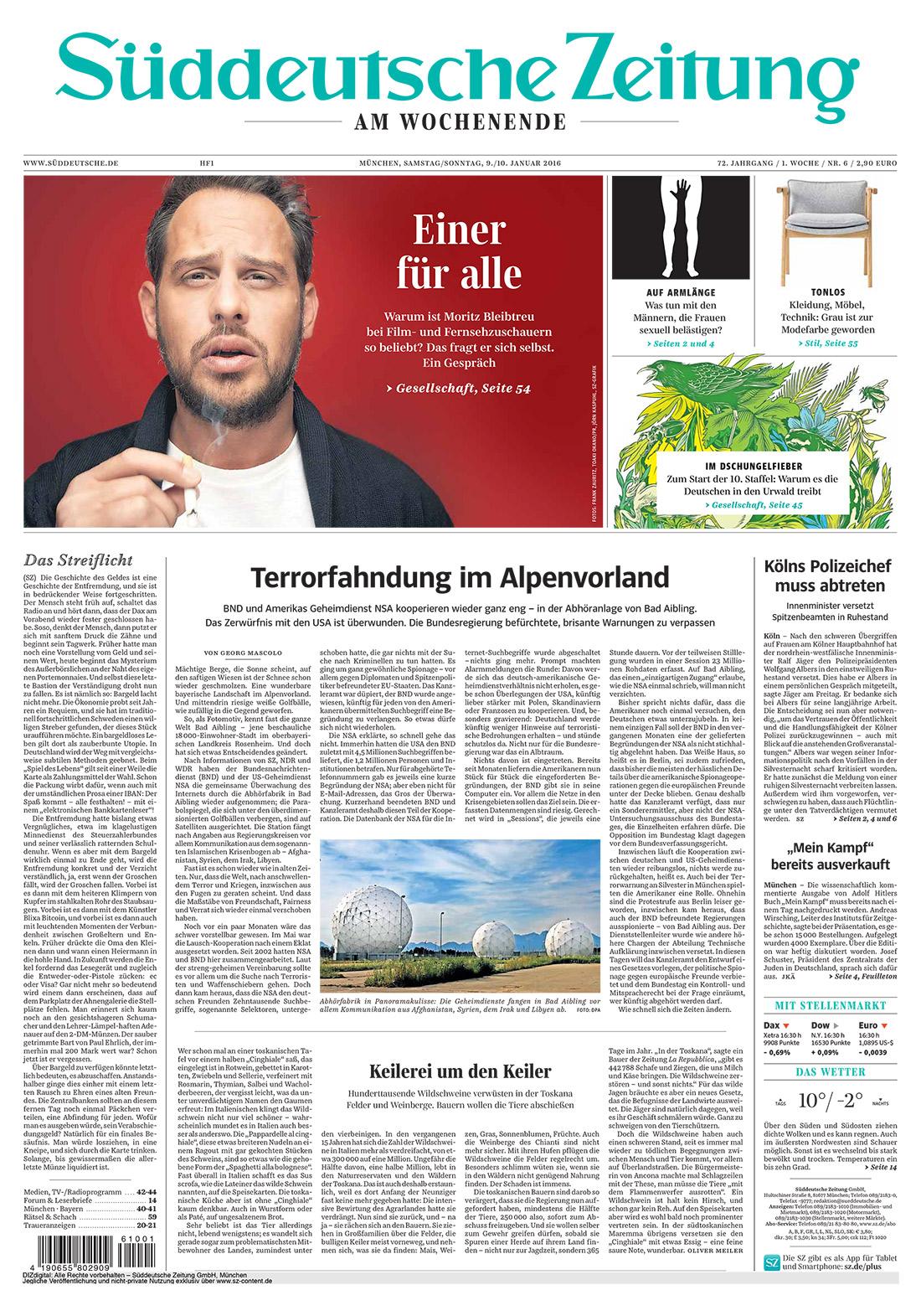 Bekanntschaften Süddeutsche Zeitung