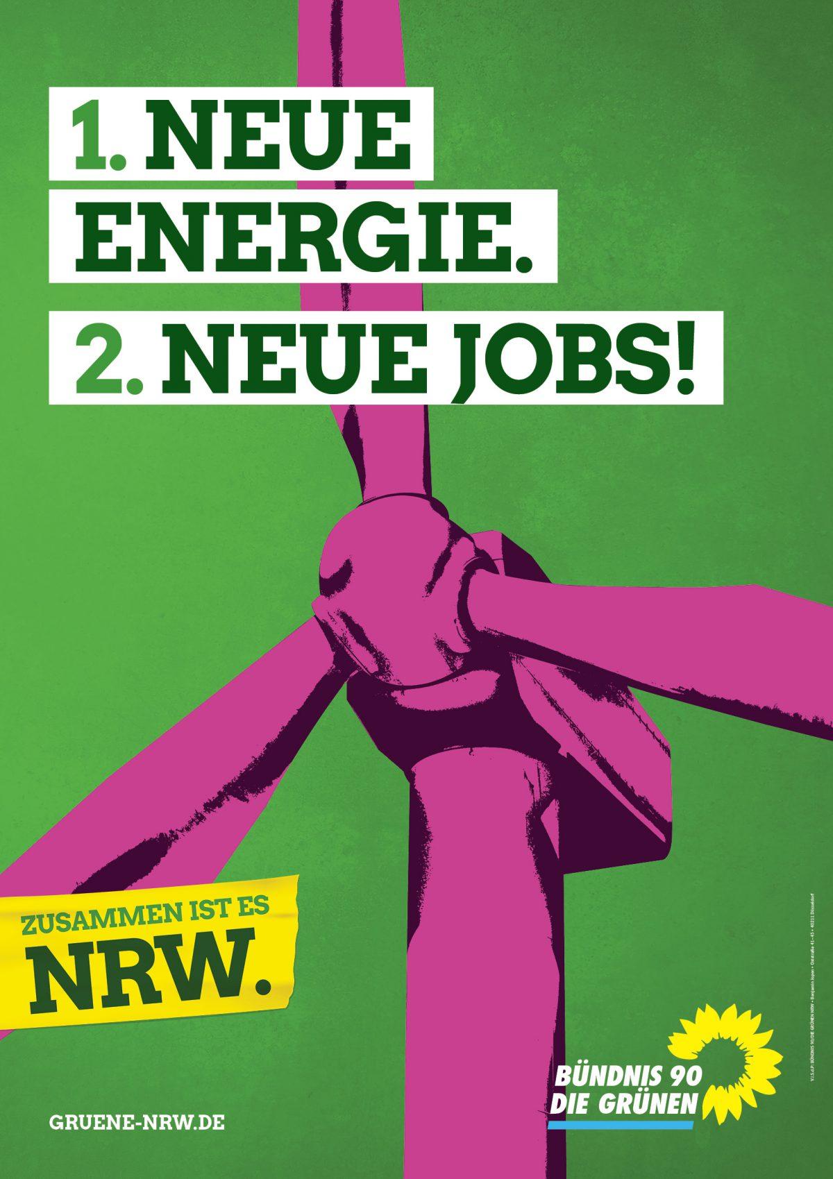 Die Grünen Wahlplakat