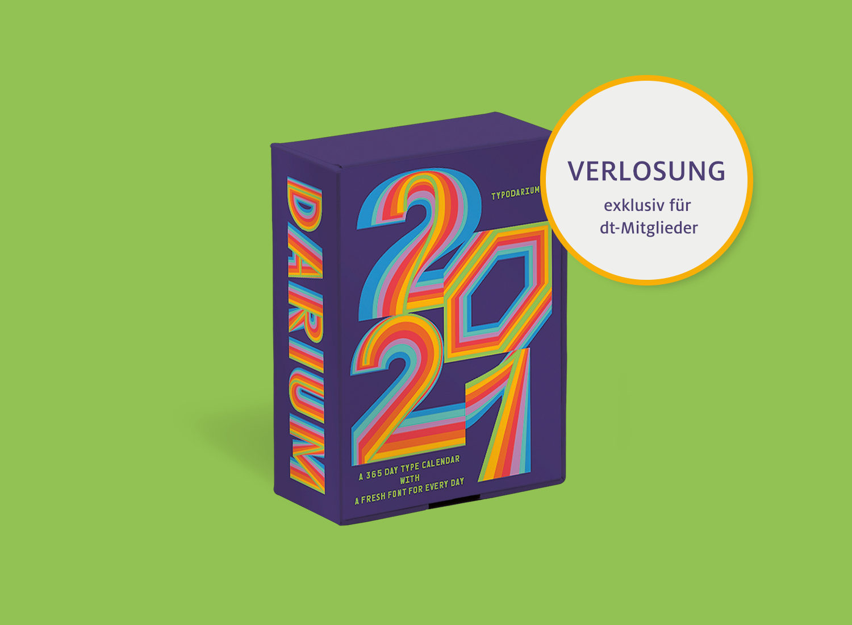 Typodarium 2021 - Tägliche Typo-Inspiration fürs ganze ...
