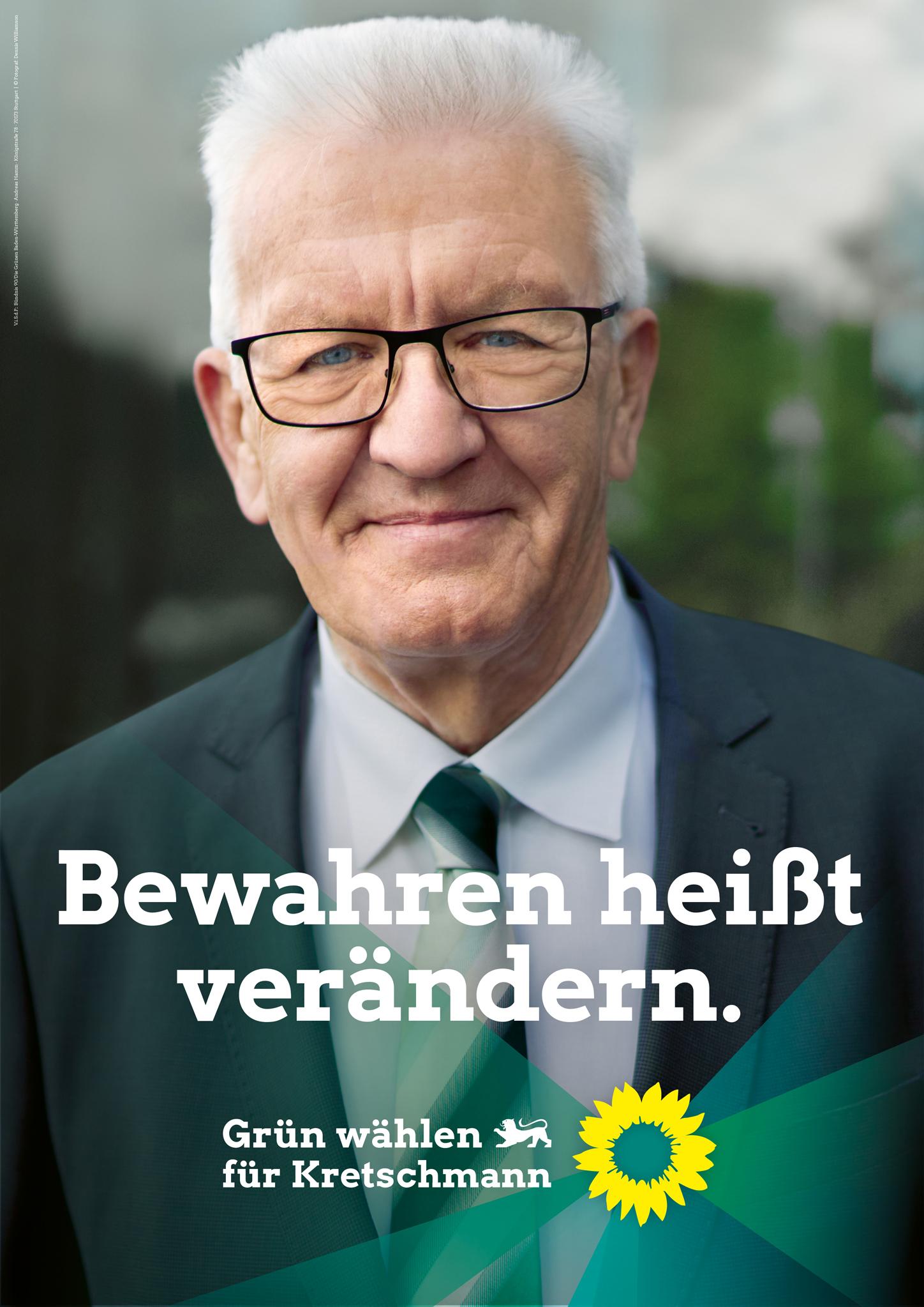 Landtagswahl Baden-Württemberg 2021 Bündnis 90/Die Grünen ...