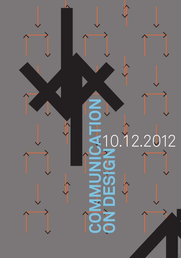 Communication on Design Poster