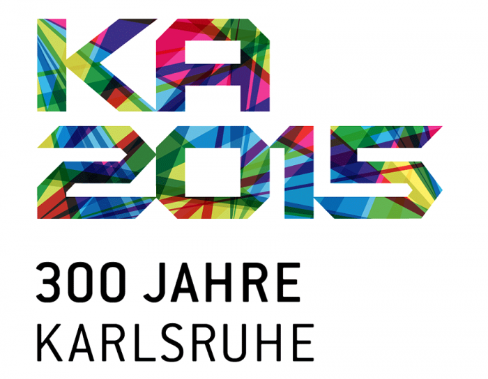 300 Jahre Karlsruhe Logo