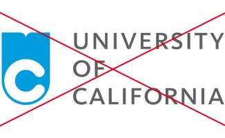 University of California – Monogram